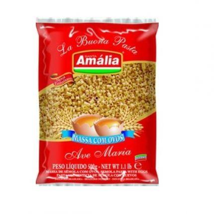 MACARRAO S AMALIA AVE MARIA C/OVOS 500GR