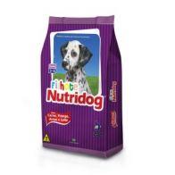 RACAO NUTRIDOG FILHOTE 25KG C/ARRO/VITAM