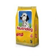 RACAO NUTRIDOG SAB ARROZ+CARNE+FRAN 25KG