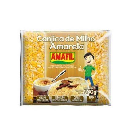 CANJICA AMARELA 500GR - AMAFIL