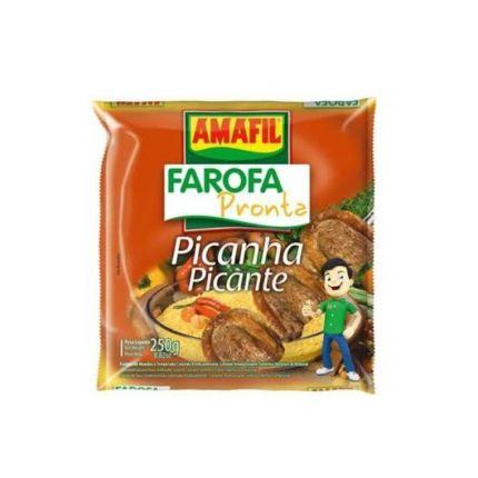 FAROFA PRONTA DE MANDIOCA PICANTE-AMAFIL