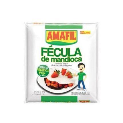 FECULA DE MANDIOCA BRANCA 1KG - AMAFIL