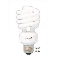 LAMPADA GOLDEN 36W ESPIRAL - 220V