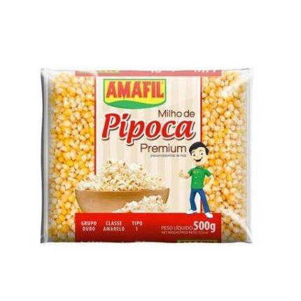 MILHO DE PIPOCA IMPORT 500GR - AMAFIL