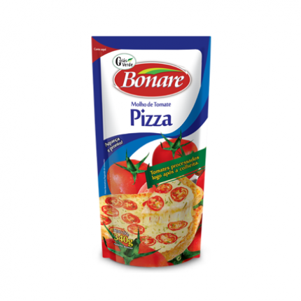 MOLHO DE TOMATE BONARE PIZZA SC 340GR