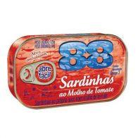 SARDINHA 88 MOLHO DE TOMATE
