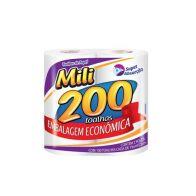 TOALHA DE PAPEL 200 FOLHAS MILI