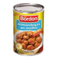 ALMONDEGA AO MOLHO BORDON