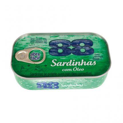 SARDINHA 88 OLEO